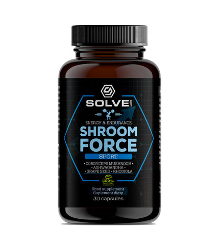 Shroom Force - Cordyceps sinensis ATP pre-workout