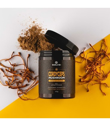 Cordyceps (Cordyceps sinensis) 10:1 Mushroom Powder
