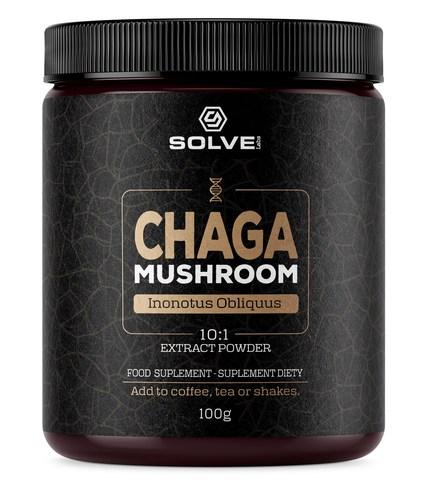 Chaga (Błyskoporek podkorowy) 10:1 Mushroom Powder