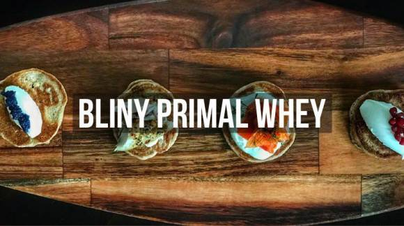 Przepis - Bliny Primal Whey
